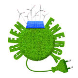 Green energy concepts Stock Photography