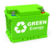 Green energy Royalty Free Stock Photo