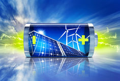 Green energy Stock Photography