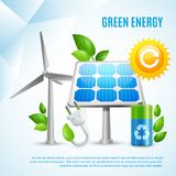 Green Energy Design Concept Stock Image
