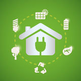 Green energy design. Stock Photos