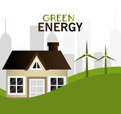 Green energy design. Royalty Free Stock Photos