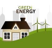 Green energy design. Royalty Free Stock Photos