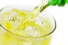 Green Energy Drink Soda Royalty Free Stock Images