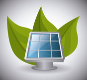 Green energy and ecology Stock Image