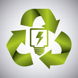 Green energy and ecology Stock Photos