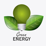 Green energy and ecology Stock Photography