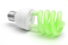 Green energy. Environmental friendly bulb, green energy concept Stock Photos
