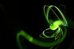 Green Energy fractal Royalty Free Stock Images
