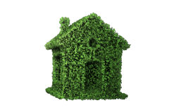 The green energy house concept - 3d rendering Stock Images