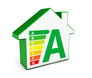 Green Energy House Icon Royalty Free Stock Photos