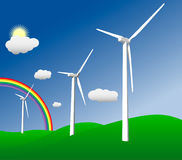 Green Energy Illustration Royalty Free Stock Image