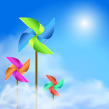 Green energy. Illustration of green energy power Royalty Free Stock Image