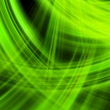 Green energy jet background. EPS 10 Stock Image