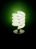 Green energy - light bulb, lamp Stock Image