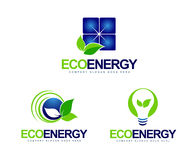 Green Energy Logo Royalty Free Stock Image