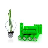 Green energy is near future Royalty Free Stock Photography