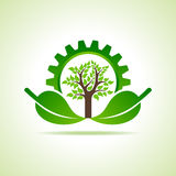 Green energy part icon design concept Royalty Free Stock Photo