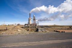 Green energy power plant Stock Image