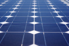 Green energy solar panel Stock Photos
