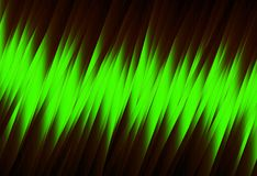 Green energy striped royalty free stock image