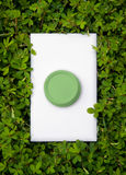 Green Energy Switch Royalty Free Stock Photos