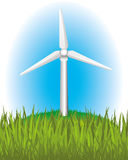 Green energy. Royalty Free Stock Photography