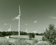 Green Energy Wind Turbines Stock Photos