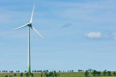 Green energy windmill generators ecology Stock Photography