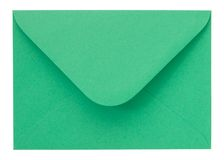Green Envelope Royalty Free Stock Photos