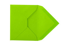 Green envelope. Stock Images