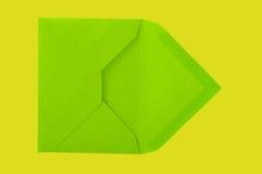Green envelope. Stock Photography