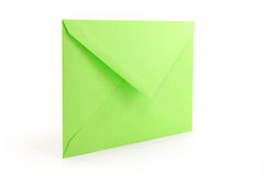 Green envelope Stock Images