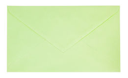 Green envelope Royalty Free Stock Photo