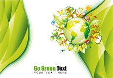 Green Environmen Background Royalty Free Stock Photography