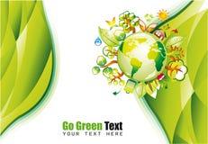 Green Environmen Background Royalty Free Stock Photography