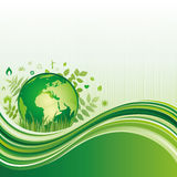 Green environment background Royalty Free Stock Photos