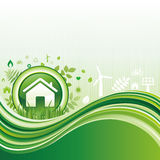 green environment background Royalty Free Stock Photo