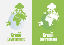 Green environment Stock Photography