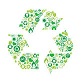 Green environment icon Stock Image