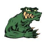 Green evil monster Stock Photography