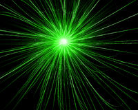 Green explosion. Digitally generated image - green gas explosion Royalty Free Stock Images