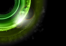 Green explosion Stock Images