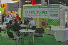 GREEN EXPO Alternative Energy trade show Stock Photo
