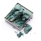 Green eye shadow Stock Image