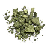 Green eye shadows Royalty Free Stock Image