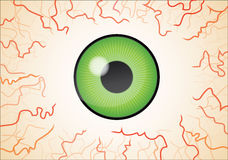 Green eye wallpaper Royalty Free Stock Images