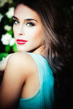 Green eyes Royalty Free Stock Photography