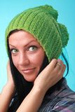 Green eyes girl Royalty Free Stock Photography