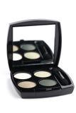 Green eyeshadows Royalty Free Stock Images